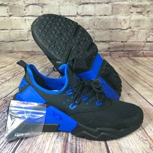 NIKE Huarache Drift Black Lyon Blue runnings shoes